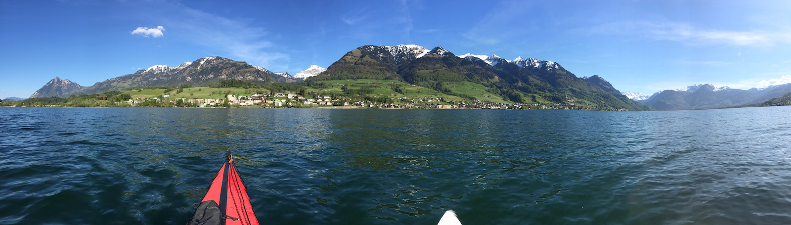 Switzerland in a Boat