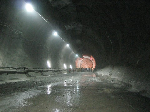Guide to large projects in Switzerland: Step one: build tunnel, step two: plan project.